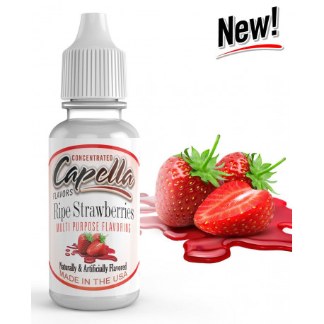 Arôme Strawberry Ripe Flavor 10ml Capella