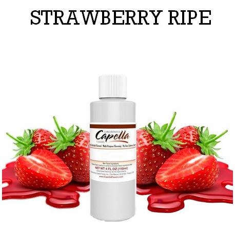 Arôme Strawberry Ripe 100 ml - Capella