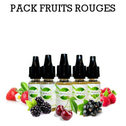 Pack d'arôme fruits rouges - vapote style