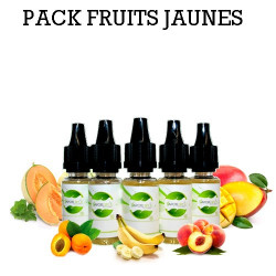 Pack d'arôme fruits jaunes - vapote style