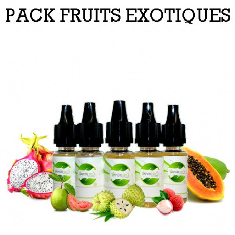 Pack d'arôme fruits exotiques - vapote style