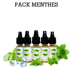 Pack d'arôme Menthes - vapote style