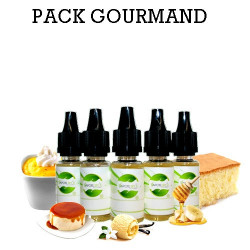 Pack d'arôme Gourmand - vapote style