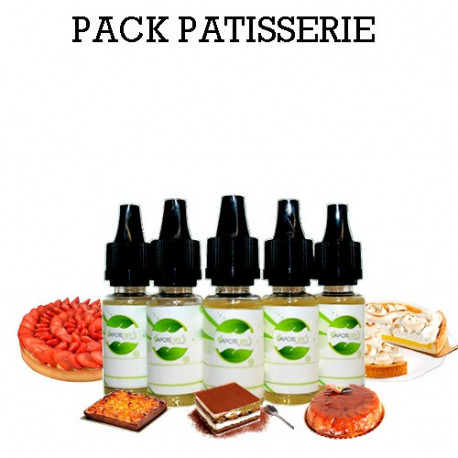 Pack d'arôme Patisserie - vapote style