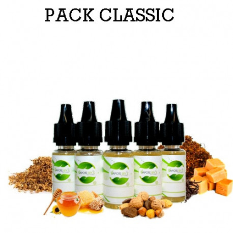 Pack d'arôme classic - vapote style