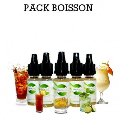 Pack d'arôme Boisson - vapote style