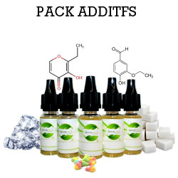 Pack d'additifs - vapote style