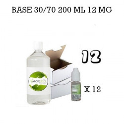 Pack 200 ML 30/70 12MG - Vapote Style