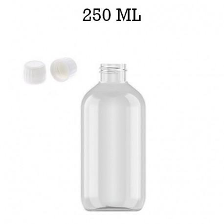 Bouteille 200 ml PET + réducteur + bouchon