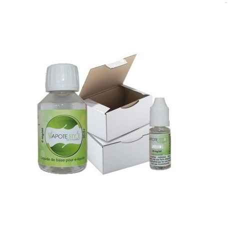 Base pack TPD 2 mg 100%VG Vapote Style