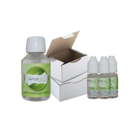 Base pack TPD 6 mg 100% VG Vapote Style