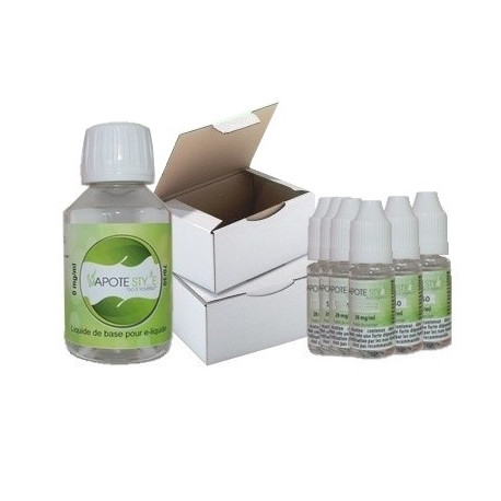 Base pack TPD 12 mg 50/50 Vapote Style