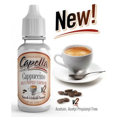 Arôme Cappuccino v2 Flavor 13ml