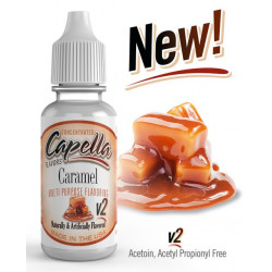Arôme Caramel v2 Flavor Capella 10 ml pour liquide DIY
