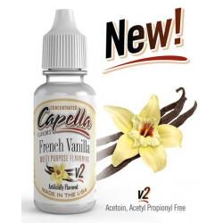 Arôme French Vanilla V2 Capella pour liquide DIY