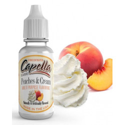 Arôme Peaches and Cream Flavor 10 ml - Capella