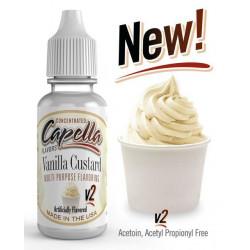 Arôme Vanilla Custard v2 Flavor 10ml - Capella