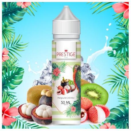 E-liquide Mangoustan, Litchi, Kiwi 50ml Prestige Fruits