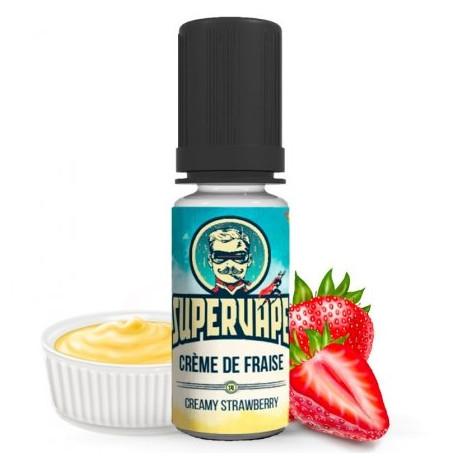 Arôme concentré Crème de Fraise 10 ml Supervape