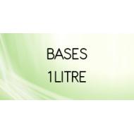 Bases en 1 Litre neutre ou nicotinée pour e liquide DIY