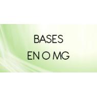 Bases taux de nicotine 0 mg