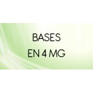 Bases taux de nicotine 4 mg