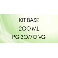 Bases 30/70 Kit DIY pour cigarette électronique en 200 ml