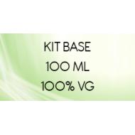 Kit base 100 ML 100% VG