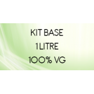 Kit base 1 litre 100% VG