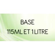 Base 115 ml et 1 litre  - Base neutre pour e-liquide  DIY