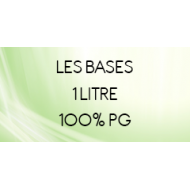 Base 100% PG 1 Litre pour fabrication e-liquide DIY