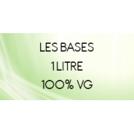 100% VG 1 litre sans nicotine Vape Or DIY | Vapote Style