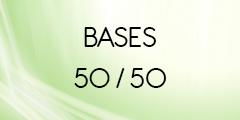 Base 50/50 pour e-liquide DIY