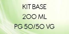 Kit base 200 ML 50/50