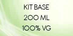 Kit base 200 ML 100% VG
