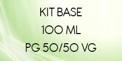 kit base 100 ml 50/50 POUR E-LIQUIDE DIY
