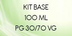 kit base 100 ml 30/70 POUR E-LIQUIDE DIY
