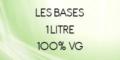 Base 1 litre 100% VG pour DIY