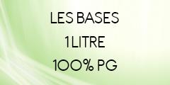 Base 1 litre 100% PG pour liquide DIY