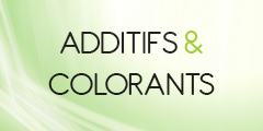 Additifs & Colorants