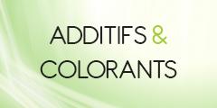 Additifs & Colorants