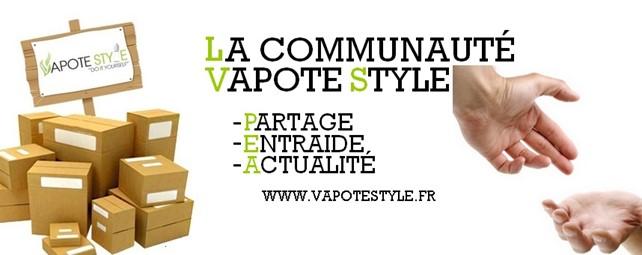 communauté vapote style