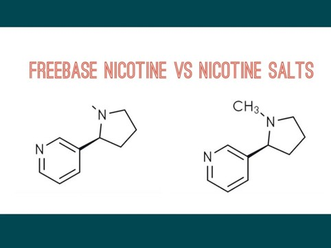 nicotine vs sels de nicotine