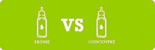 Arôme diy VS concentré e-liquide