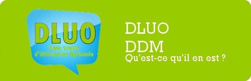 Qu'est-ce que la DLUO et/ou DDM d'un arôme ou concentré ou d'une base ?